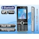 simvalley MOBILE Dual-SIM Multimedia-Handy SX-340 für 29,90€