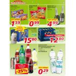 Neue Sortimentsaktionen für den Wochenbeginn (z.B. -25% auf Coca Cola Produke)