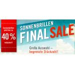 Sonnenbrillen -40% – Sale bei MisterSpex.de