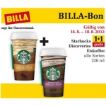 Starbucks Discoveries-Eiskaffee 1+1 Gratis!