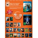 Neue 4 Blu-rays für 30€ Aktion bei Amazon / Müller