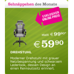 Drehstuhl in Rennsitzoptik um 59,90€ bei Mömax