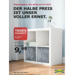 nur morgen: EXPEDIT Regal 79×39 cm um 9,99€ bei IKEA
