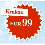 Austrian Angebot der Woche: Wien – Krakau um 99€