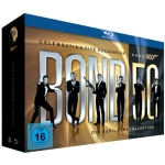 GQ Jahresabo inkl. James Bond 50 – Die Jubiläums-Collection (22 Blu-rays) um 52,20€