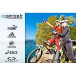 MySportBrands 40€ Gutschein für 14,90€ (MBW 55€)