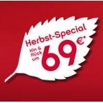 Nur am 9. Oktober – AirBerlin Herbst-Special: Europa um 69 Euro hin und zurück