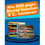 3€ Rabatt auf jede Blu-ray ab 9,99€ bei Saturn bei Abgabe einer DVD/VHS
