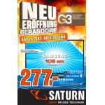 Saturn Gerasdorf (G3) Eröffnungsangebote vom 18.10. – 20.10.2012