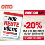 -20% auf die gesamte Mode (inkl. Uhren & Schmuck, Taschen, … ) bei Ottoversand.at