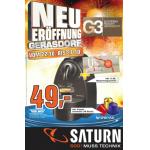 Saturn Gerasdorf (G3) Eröffnungsangebote vom 22.10. – 27.10.2012