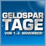Saturn Geldspartage von 1. – 3. November inkl. Onlineshop (z.B. iPad 2 16GB um 299€)