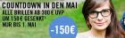 Alle Brillen ab 300€ UVP um 150€ gesenkt und -15% auf das gesamte Sortiment @MisterSpex.de