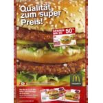 McDonald's Gutscheine November 2012 (Österreich) in der Post