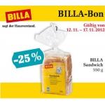 Billa Sandwich -25%