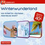Wintersale bei Hotels.com – bis zu 40% Rabatt