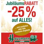 -25% auf alles wie z.B.: Taschen & Trolleys aller Art bei Hausmann