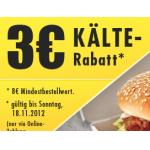 3€ Gutschein für Lieferando.at