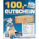 100€ Gutschein ab 1000€ Einkauf bei Saturn (inkl. Onlineshop)