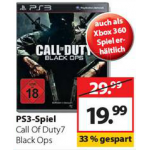 Call of Duty: Black Ops für PS3 / XBOX360 um 19,99€ bei Müller