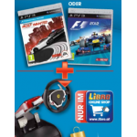 Ferrari Wireless GT Lenkrad + PS3 Game (F1 2012 oder NfS MW) um 99,99€