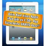 Genial: iPad Mini WiFi 16GB + 50€ iTunes Gutschein um 329€
