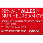 nur heute: 20% Rabatt auf alles (inkl. Sale Ware) im Puma Onlineshop