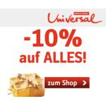 ab 26.11.: 10% Rabatt auf alles oder 15€ Rabatt bei Universal.at