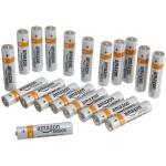 bis 12:45: AmazonBasics AAA-Alkalibatterien (20er-Pack) um 4,99€