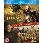 Kampf der Titanen 3D + Zorn der Titanen 3D auf Blu-ray inkl. Versand um ca. 17 Euro