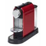 nur heute: Krups XN 7006 Nespresso CitiZ fire-engine red + 70€ Nespresso Gutschein um 99€