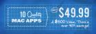MacLegion Spring Bundle 2011 (11 Mac Apps im Bundle) um 34,06€ @MacLegion.com