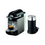 Krups XN 301T Nespresso Pixie Electric Titan mit Aeroccino³ Milchaufschäumer + 70€ Nespresso Gutschein um 149,99€