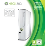 XBOX 360 White Limited Edition für 194,77€ + Gratis 250GB Festplatte