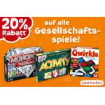 20% Rabatt auf alle Gesellschaftsspiele bei Toys R Us (inkl. Webshop)