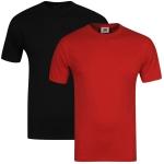 2x Nike T-Shirts in schwarz und rot ink. Versand um ca. 10€