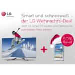 LG Weihnachts-Deal: LG Smart TV kaufen und Optimus Vu zum halben Preis bekommen