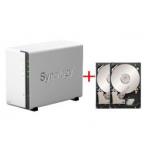 Synology Diskstation DS212j NAS System 4TB um 319,90€