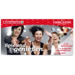 Casinos Austria 25€ Gutschein + Essen + Sekt bei Interspar Online