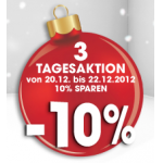 -10% auf Libro Gutscheinkarten von 20.12. – 22.12.2012
