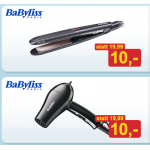 BaByliss Glätter oder Reisehaartrockner inkl. Versand um 10 Euro bei Möbelix!