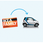 car2go Anmeldegebühr + 60 Minuten Fahrzeit geschenkt für IKEA Family Mitglieder