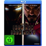 Iron Man 1+2 Blu-ray Collectors Edition um 9,99 Euro / 7,50 Euro in Aktion