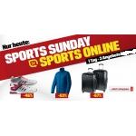 3 Sonntags-Tagesangebote bei Sports Experts