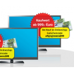 Media Markt Alt gegen Neu TV-Eintauschaktion mit 100 – 200 Euro Gutschrift