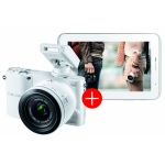 Samsung NX1000 mit Objektiv 20-50mm + Samsung Galaxy Tab 2 7.0 Wi-Fi 8GB inkl. Versand um 349 Euro