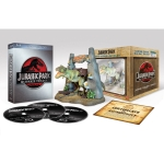 Jurassic Park Ultimate Trilogy (Limited Collector's Edition inkl. T-Rex Figur) [Blu-ray] um 24,97 Euro