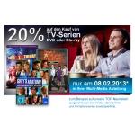 Nur am 08.02. – 20% Rabatt auf TV-Serien auf DVD oder Blu-ray bei Müller