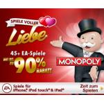 45+ iPhone / iPad Spiele um nur 0,89 Euro