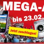 """""""Mega-Abverkauf"""" bei Media Markt bis zum 23.2.2013"""